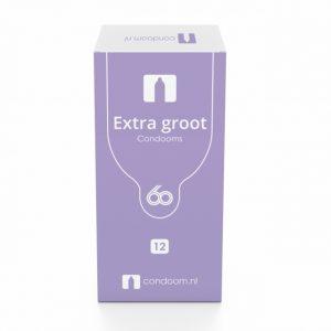 Condoom.nl Extra Groot Condooms 60mm